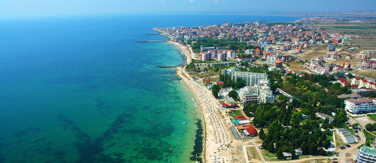 Ravda Bulharsko plaž