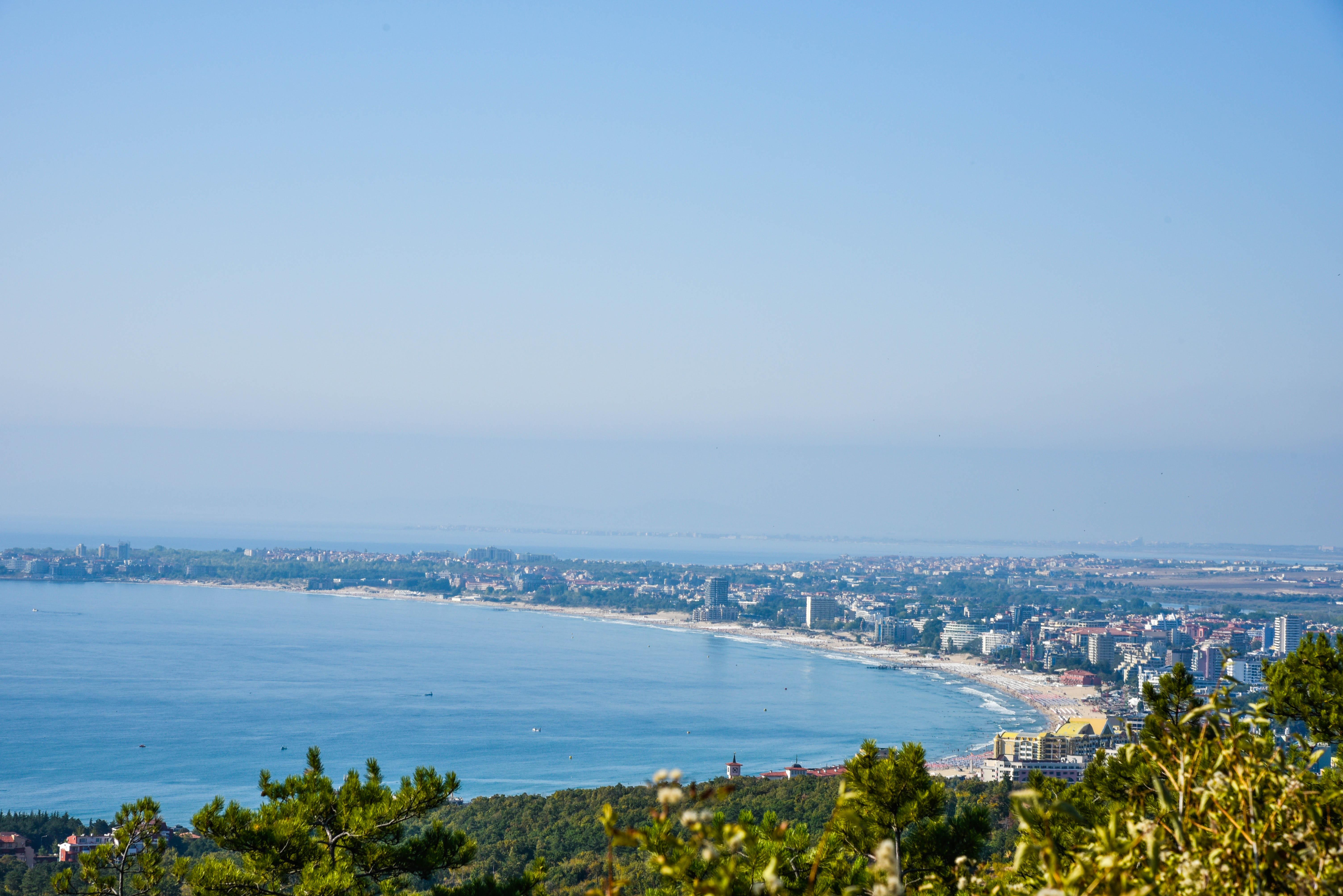 Slunečné pobřeží Bulharsku